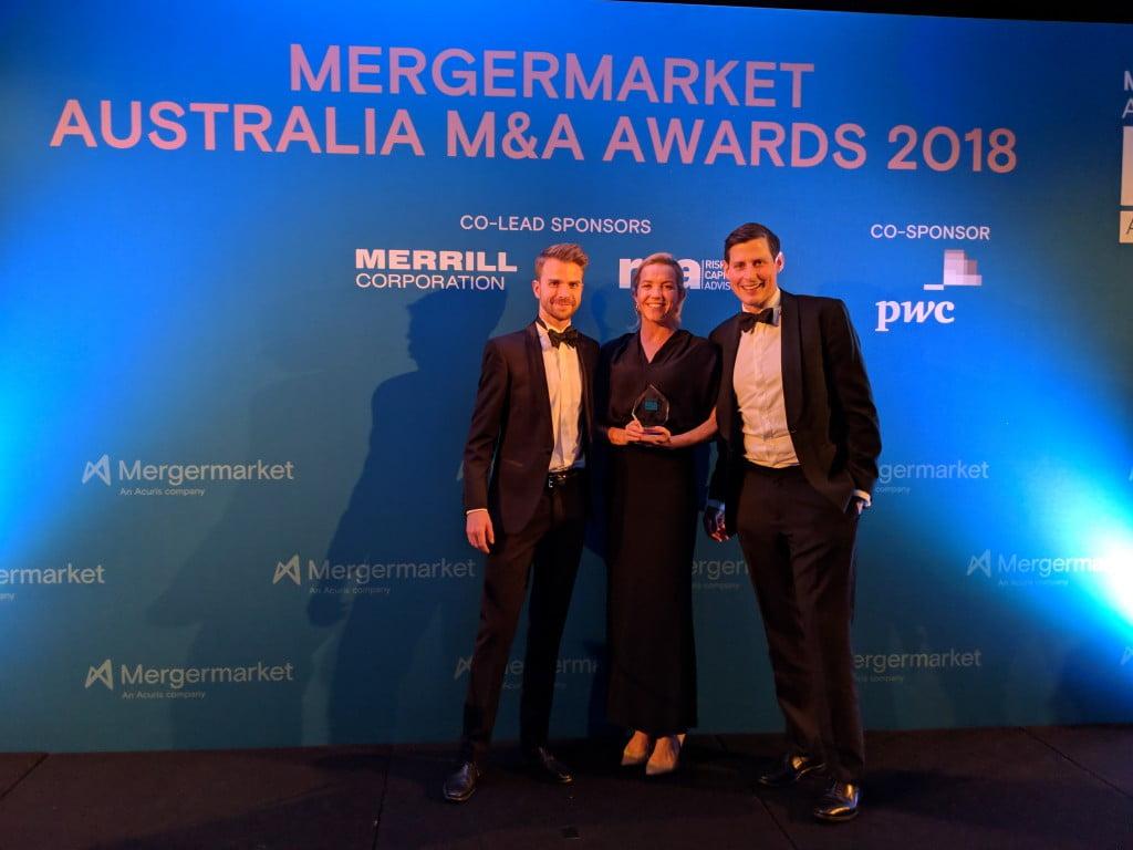 MergerMarket award